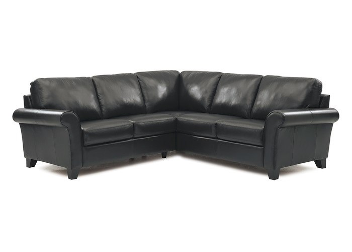Manatee Leather Sectional