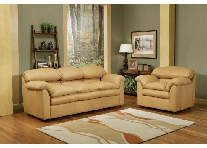 Mesa Leather Sofa Amp Set