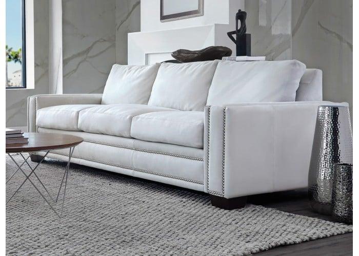Mia Leather Sofa Amp Set