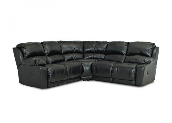 Charmed Leather Reclining Sectional  sc 1 st  Leather Furniture Expo & Leather Reclining Sectional islam-shia.org