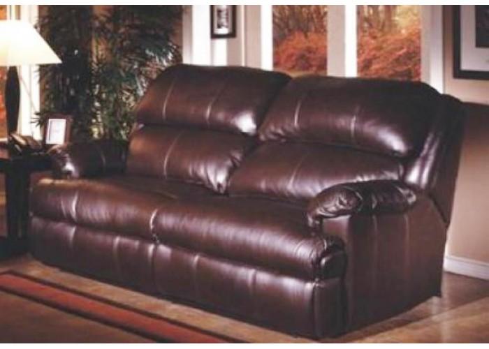 Omnia Nicholas Leather Reclining Sofa Amp Set