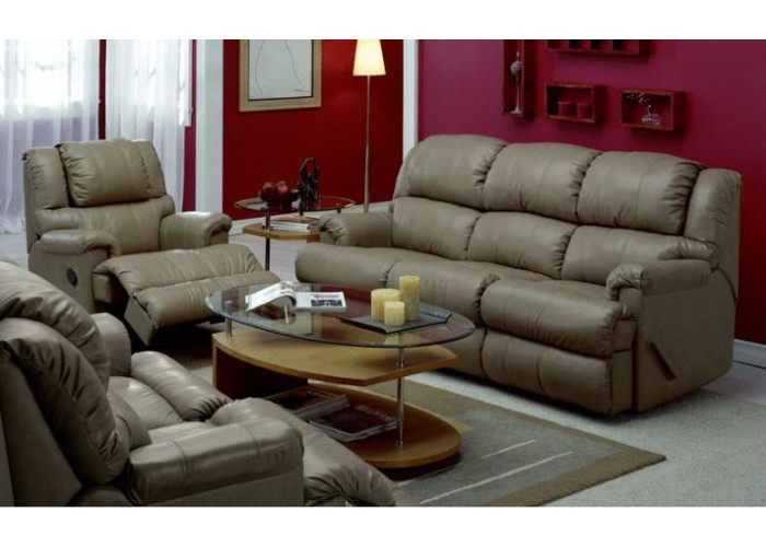 Arrow Leather Reclining Sofa Amp Set