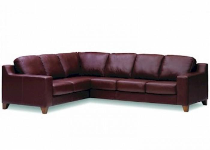 Lorenzo Leather Sectional