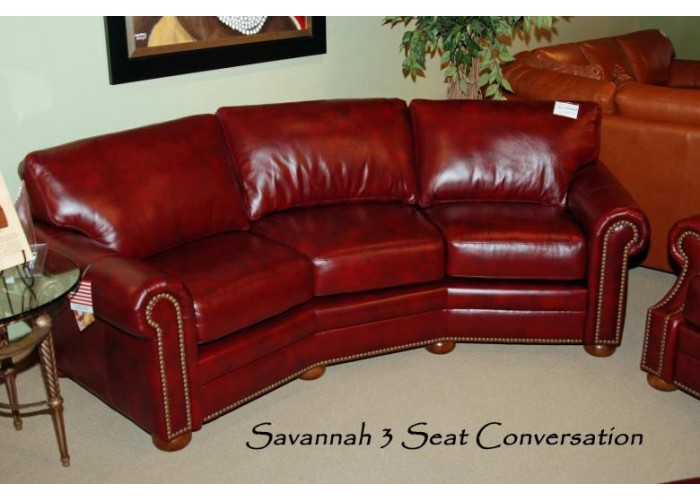 Omnia Savannah Leather Sofa Amp Sectional