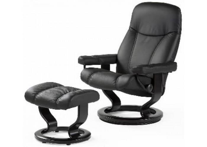 ekornes stressless consul family recliners. Black Bedroom Furniture Sets. Home Design Ideas