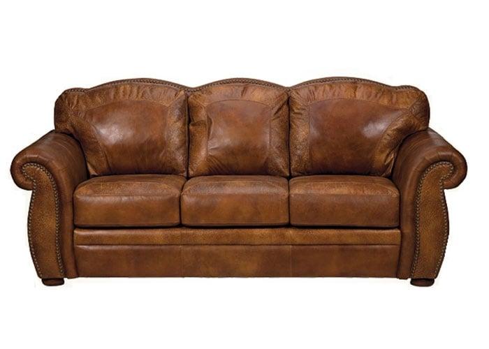 Tarkania Deep Seating Leather Sofa Or Set, Rustic Leather Furniture