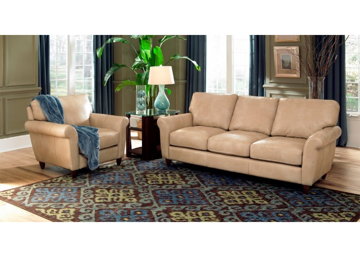 Victoria Leather Sofa Amp Set