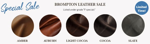 Brompton Leather Sale